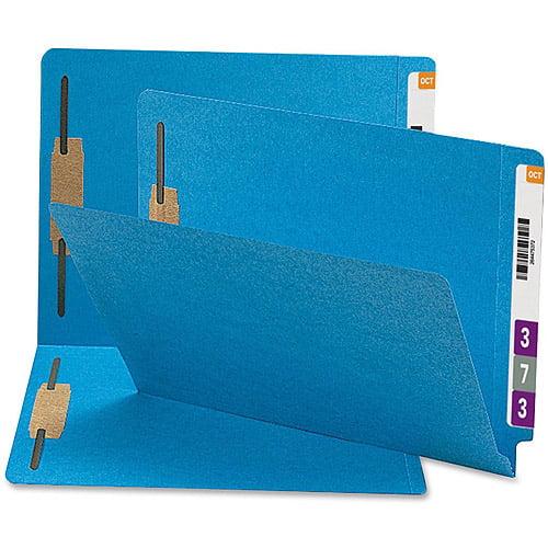 Smead Straight-Cut Tab Fastener Folders
