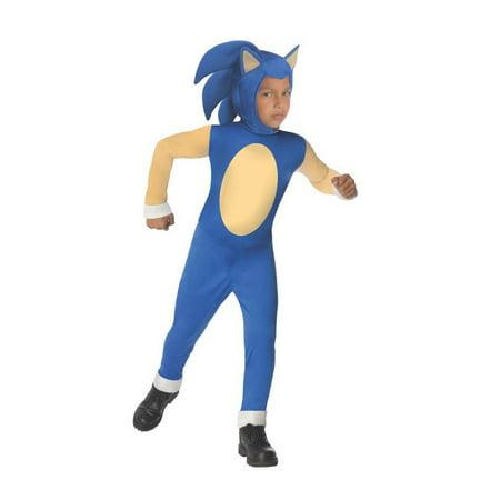 Halloween Sonic the Hedgehog Sonic Child - Sonic The Hedgehog Boys Costume