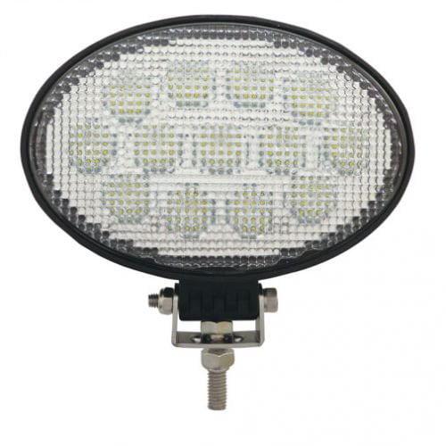 LED Work Light - 39W, Oval, Flood Beam, John Deere, R198623, AH207788
