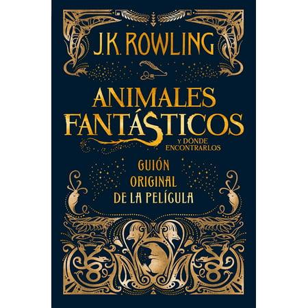 Animales fantásticos y dónde encontrarlos: guión original de la película -