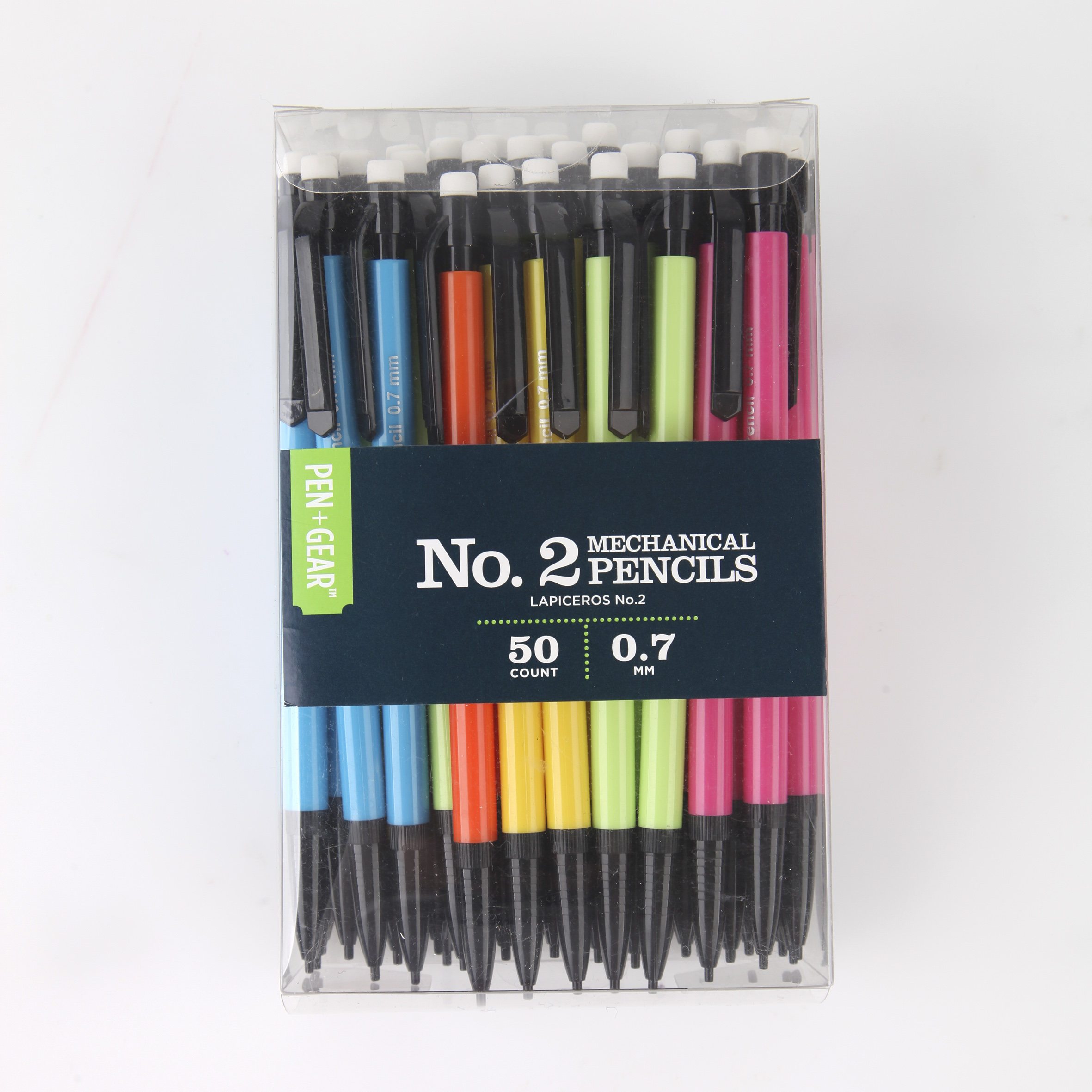PG-50PK MECH PENCIL 0.7MM