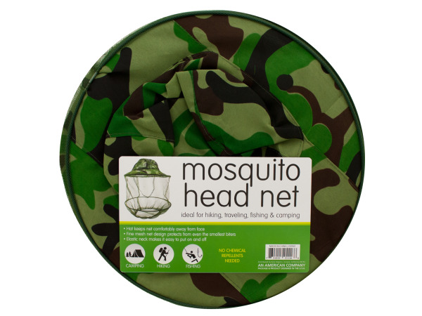 Click here to buy Mosquito Head Net Hat by Bulk Buys.
