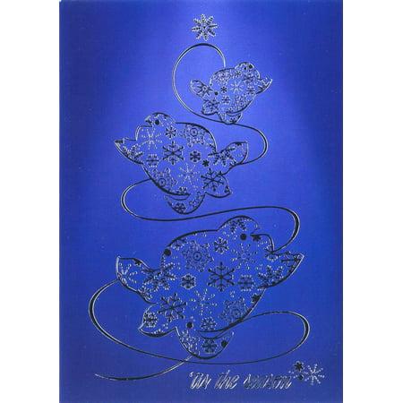 Honu Days Hawaiian Turtle Christmas Cards 12 Pack