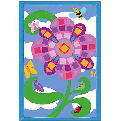 Mosaic Art Foam Kits, Flower