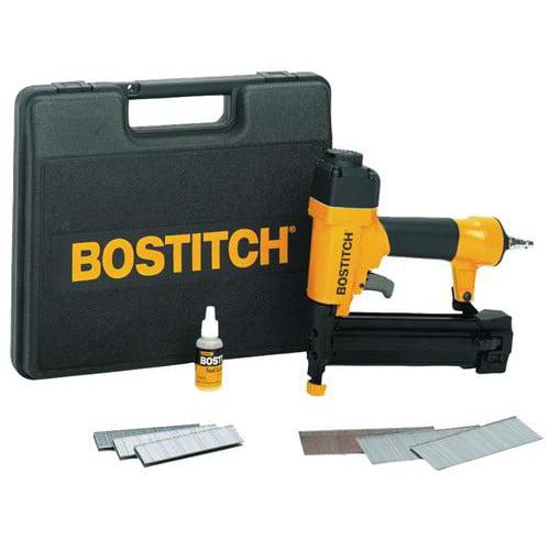 Bostitch SB-2IN1 18GA 1-5 8 Inch 2-in-1 Brad Nailer and Finish Stapler Kit by Bostitch