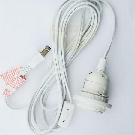 - Fantado BULK CASE Single Socket Pendant Light Cord Kits for Lanterns (11FT, White) (10 PACK) by PaperLanternStore