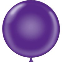 "Tuf-Tex 36"" Purple Latex Balloons (10 ct)"