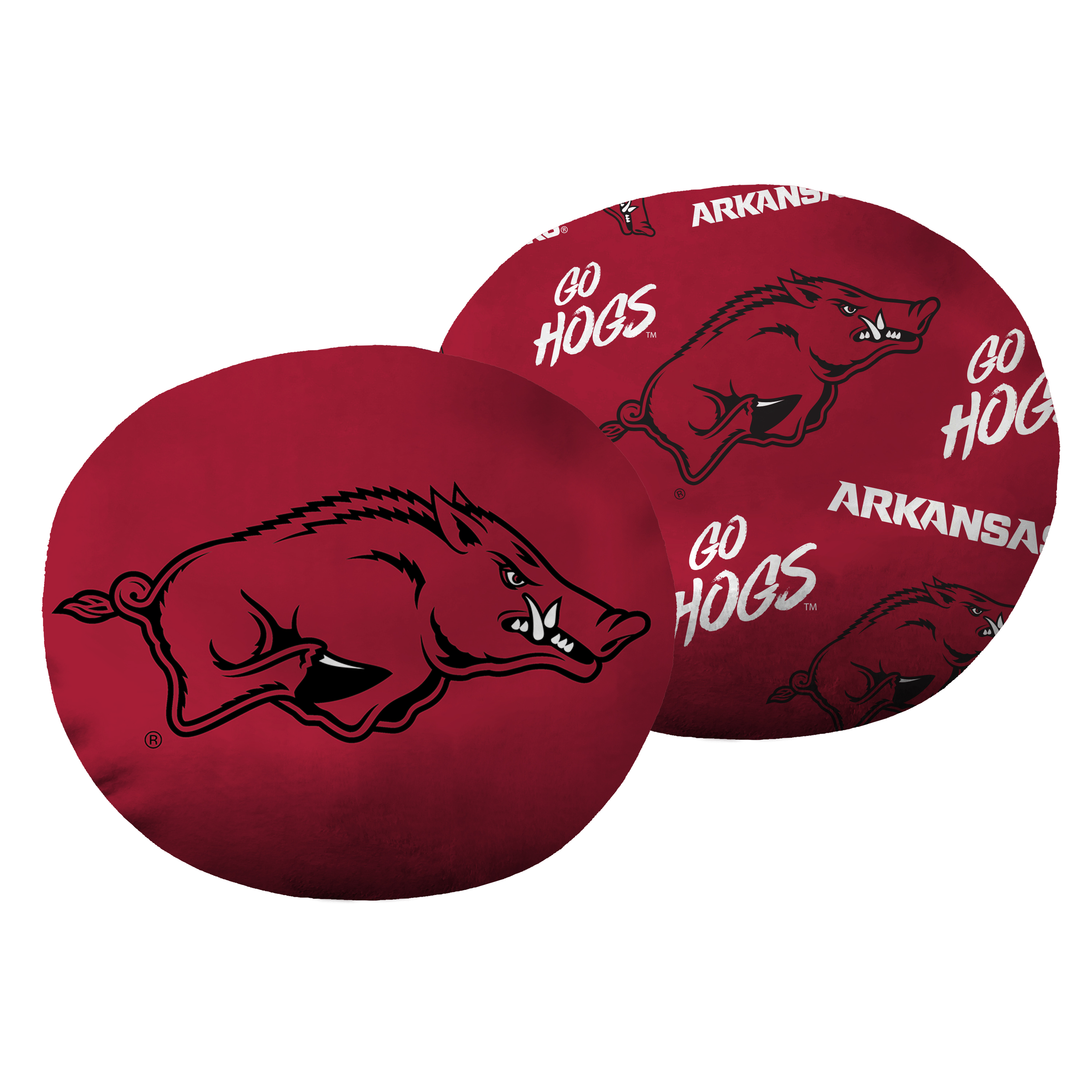 "NCAA - Arkansas Razorbacks, 11"" Cloud Pillow"