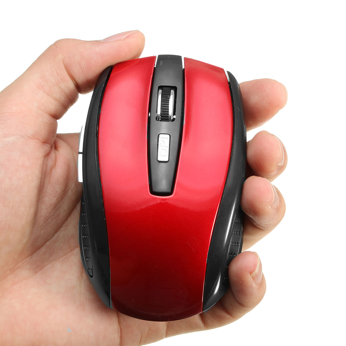 Slim 2.4GHz Wireless Mouse Wireless Optical Mouse Cordless Mice USB 2.0 Receiver For Laptop PC