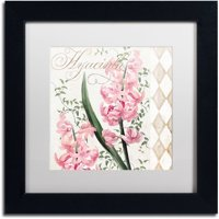"""Hyacinth"" Canvas Art by Color Bakery White Matte, Black Frame"