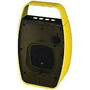 NXG Technology NX-WRLSM-YELLOW Wireless Bluetooth Speaker - Weather Resistant -Yellow