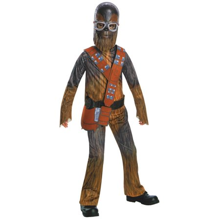 Solo: A Star Wars Story - Chewbacca Boys Halloween Costume (Chewbacca Costume Rental)