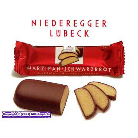 - Niederegger Chocolate Covered Marzipan Loaves - 48g/1.6 oz