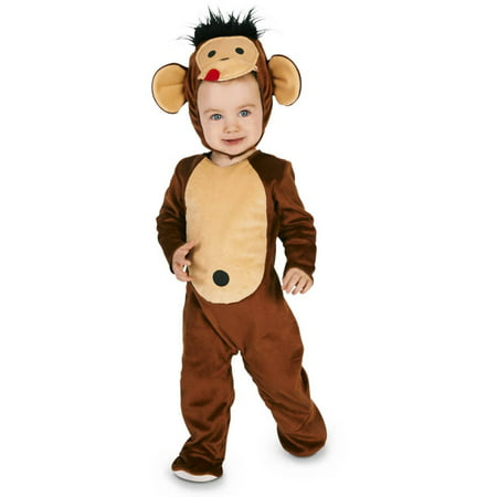Monkeyin' Monkey Toddler Halloween Costume, Size 3T-4T