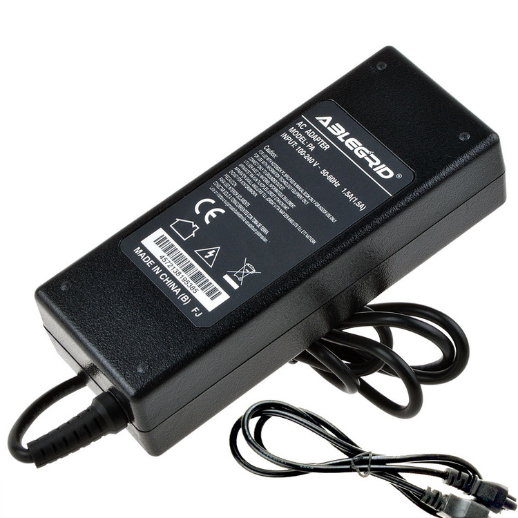 ABLEGRID 6A 12 Volt 72W AC/DC Adapter For 3528 5050 SMD LED RGB Strip light Power Supply Cord Cable PS Charger Input: 100 - 240 VAC Worldwide Use Mains PSU