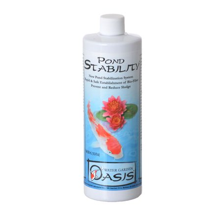 Water Garden Oasis Pond Stability - 500 ml - 16.9 -
