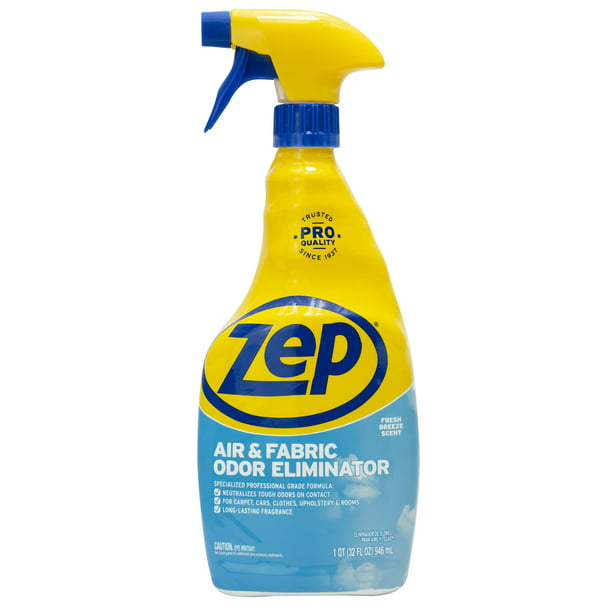 Zep Air Amp Fabric Odor Eliminator 32 Fl Oz Walmart Com