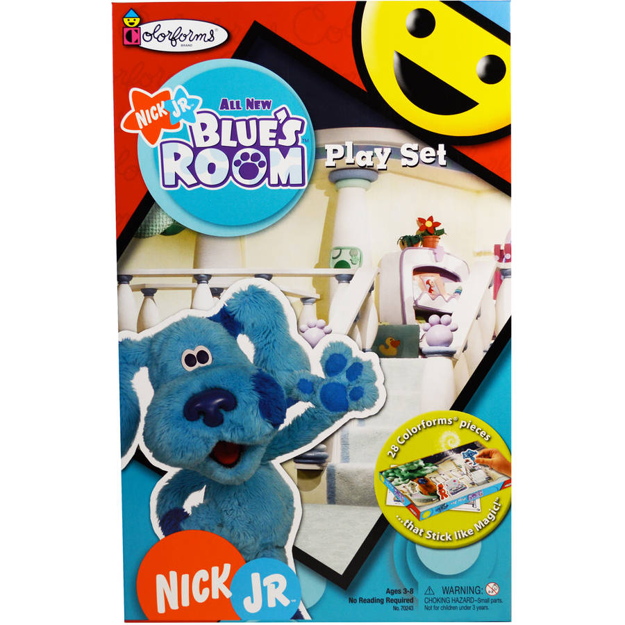 Blue's Room Colorforms Play Set