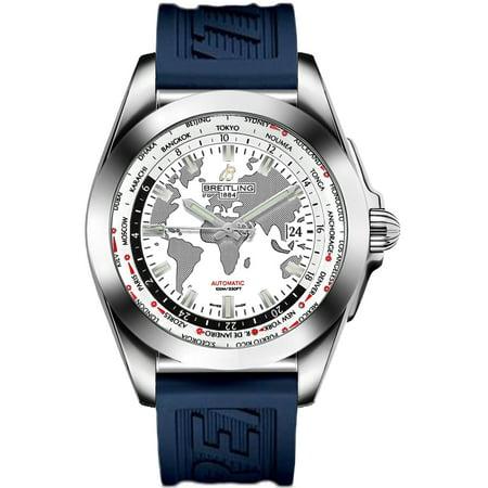 Breitling Galactic Unitime Men's Watch WB3510U0/A777-121S Breitling Galactic Unitime Men's Watch WB3510U0/A777-121S