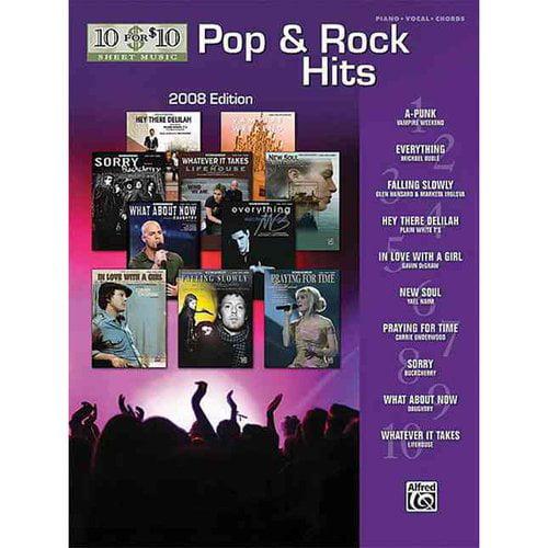 Pop Rock Hits Pianovocalchords Walmart