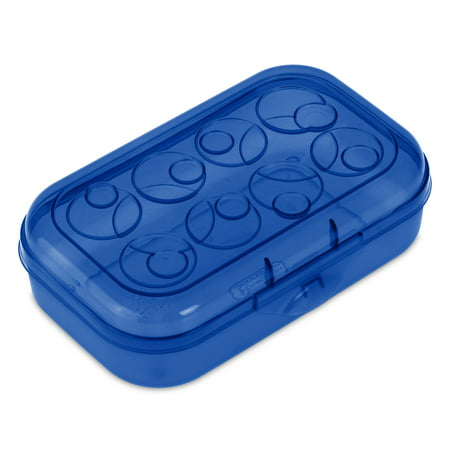 Sterilite Pencil Box Cobalt Tint
