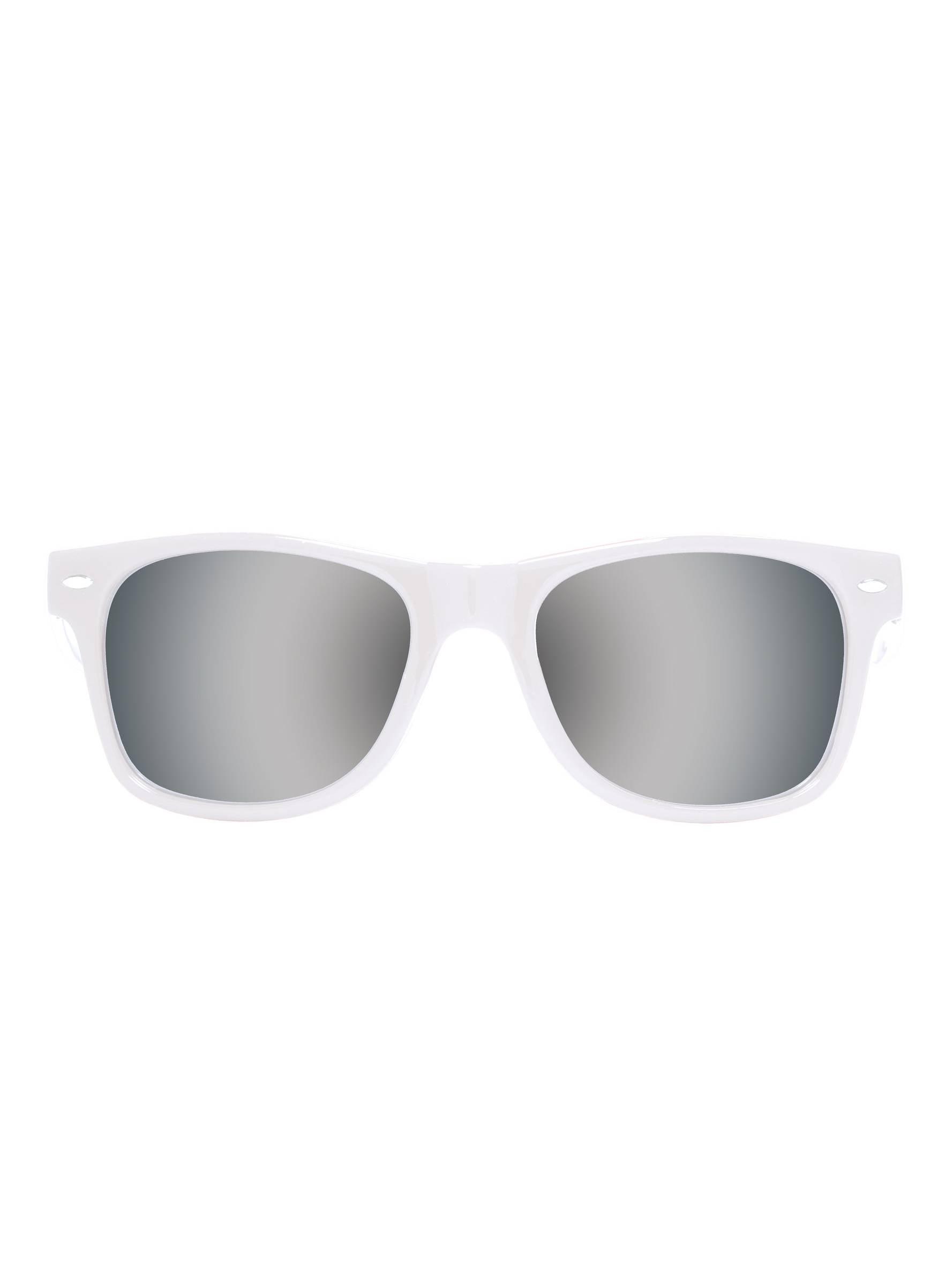 595df7d3c33 Gravity Shades - Gravity Shades Horn-Rimmed Mirror Sunglasses - Walmart.com