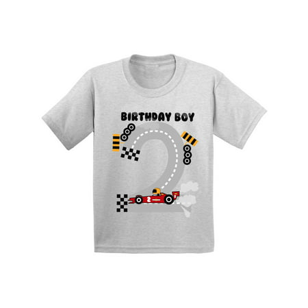 Awkward Styles Birthday Boy Race Car Infant Shirt Gifts For 2 Year Old Baby Party Boys 2nd Tshirt