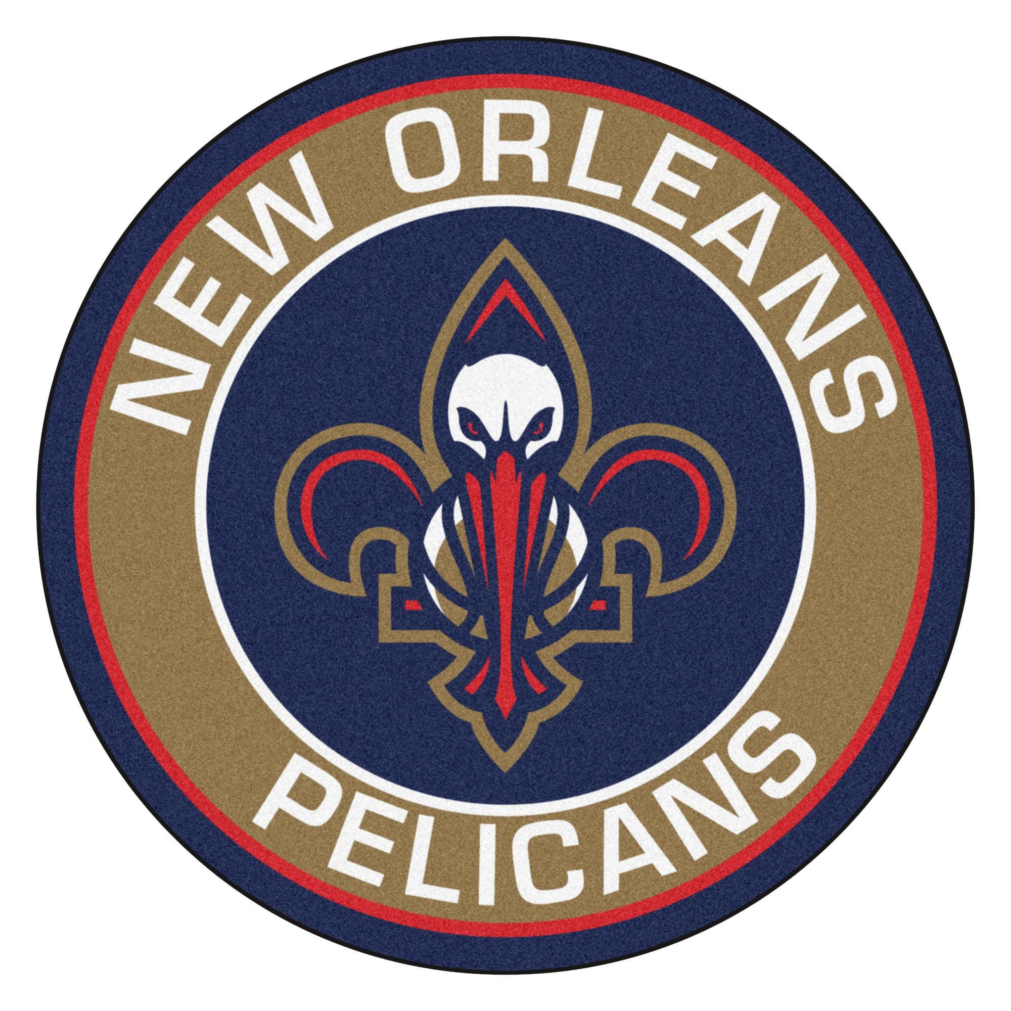 """NBA - New Orleans Hornets Roundel Mat 27"""" diameter"""
