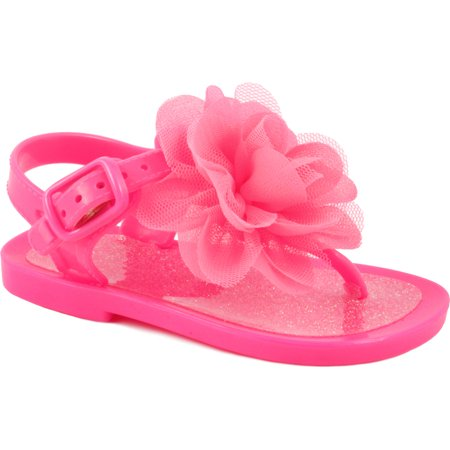 Wee Kids - Wee Kids Baby-Girls Sandals Jelly Shoes With Flower (Infant Crib Shoes  Baby Shoes) Girls Summer Sandals Hot Pink Sz 2 - Walmart.com