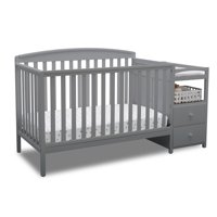 Product Image Delta Children Royal Convertible Crib N Changer Gray