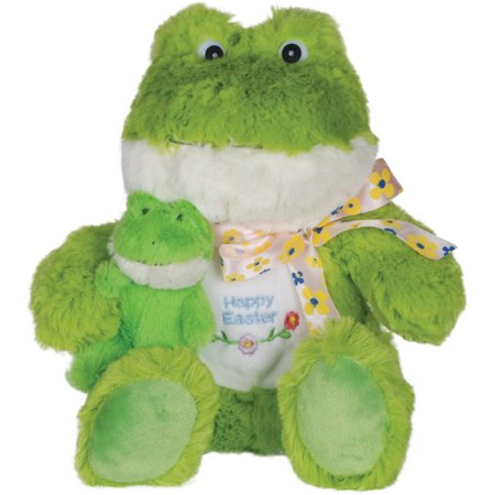 Loftus Soft Happy Easter Spring Time Frankie Frog 8.5