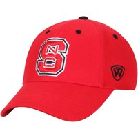 NC State Wolfpack Top of the World Top Dynasty Fitted Hat - Red