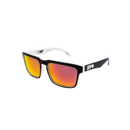 Spy Sunglasses 673015209365 Helm Scratch Resistant Lenses Square Shape, Whitewall