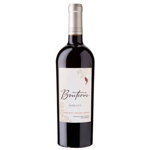 Bonterra Merlot Wine, 750 mL