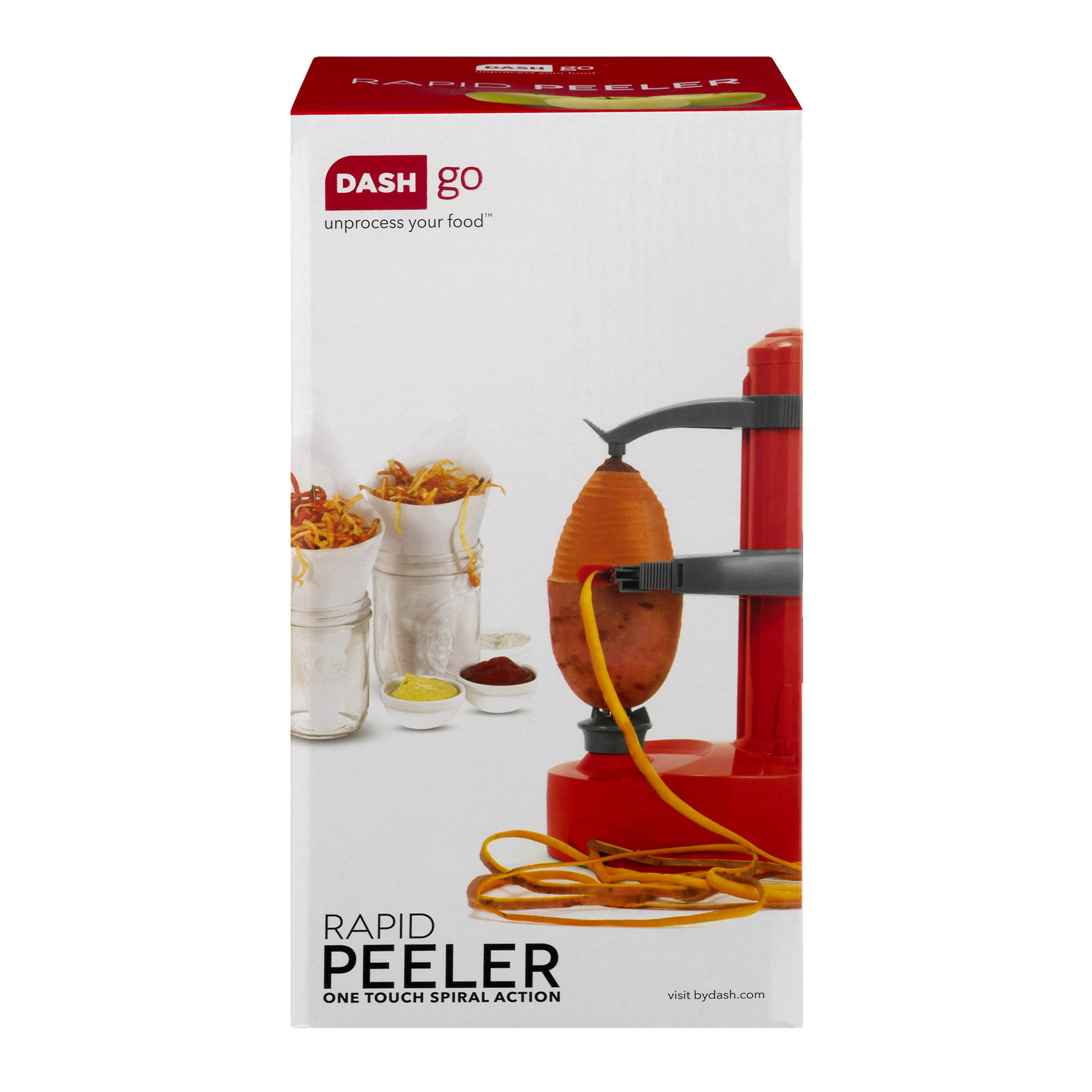 Dash Go Rapid Peeler Red, 1.0 CT