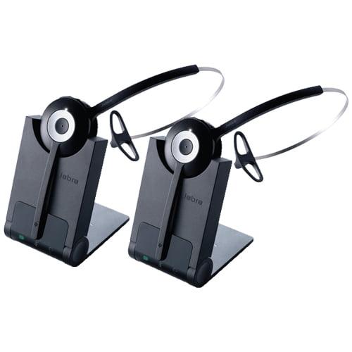 Jabra Pro 920 Mono Manual Wireless Headset System W Noise Canceling Microphone 2 Pack Walmart Com Walmart Com