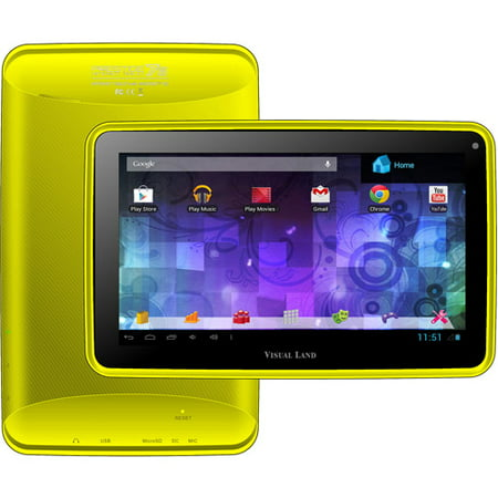 Take Offer Visual Land Prestige 7″ Tablet 8GB Memory Bonus Screen Cover Before Too Late