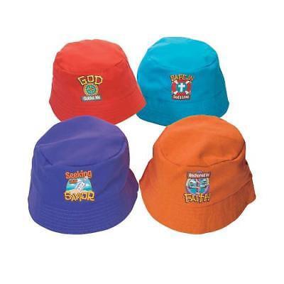 IN-13797900 Kids' Island VBS Bucket Hats Per Dozen (Vbs Supplies)