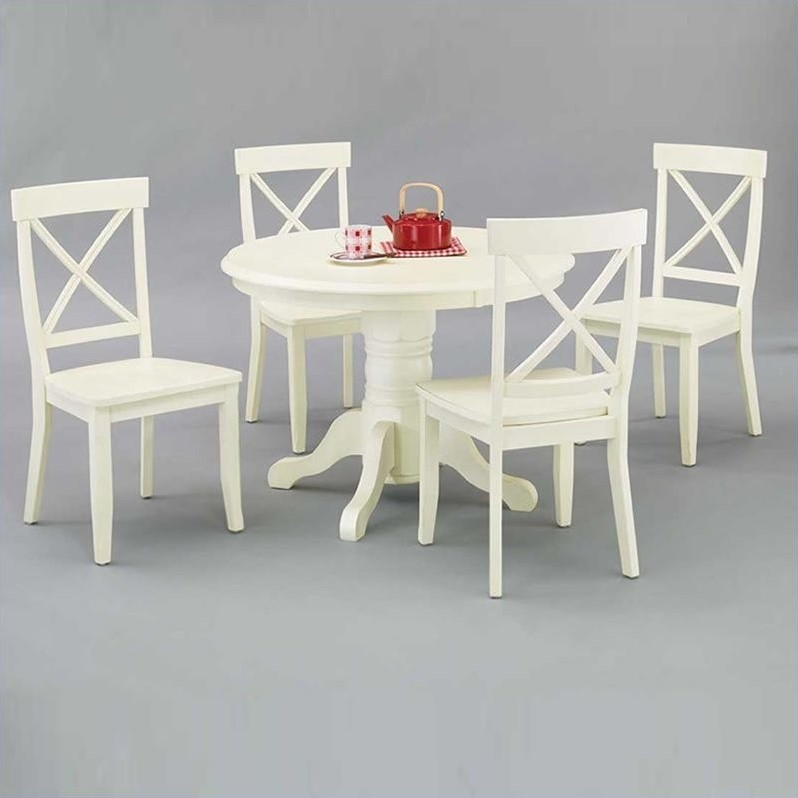 Dining Table White Finish
