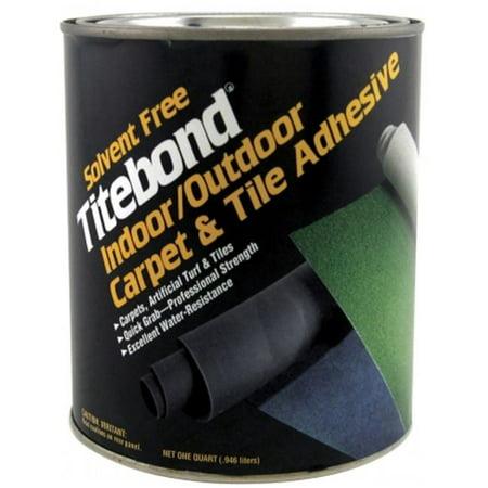 Titebond 5145 1 Quart Solvent Free Indoor & Outdoor Carpet & Tile