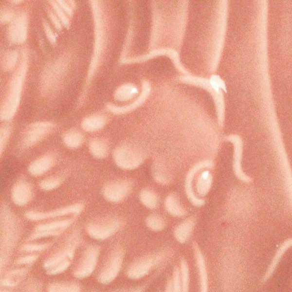AMACO LG Lead-Free Non-Toxic Gloss Glaze, 1 gal Plastic Jar, Petal Pink LG-52