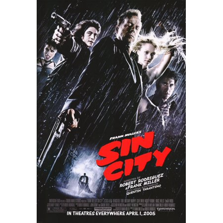 Sin City  2005  11X17 Movie Poster