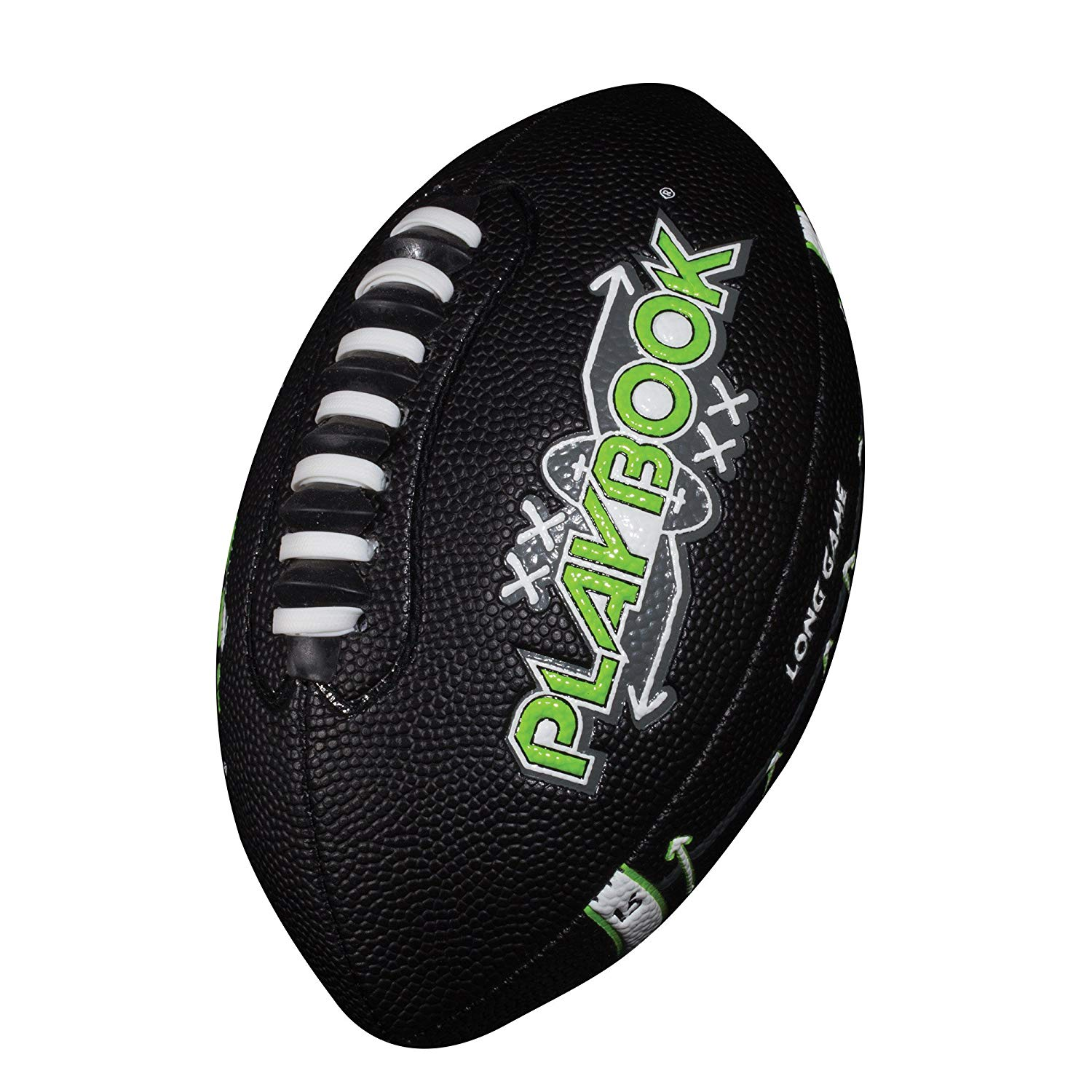 Playbook Football, Unique footballs designed to help provide players with route options By Franklin Sports