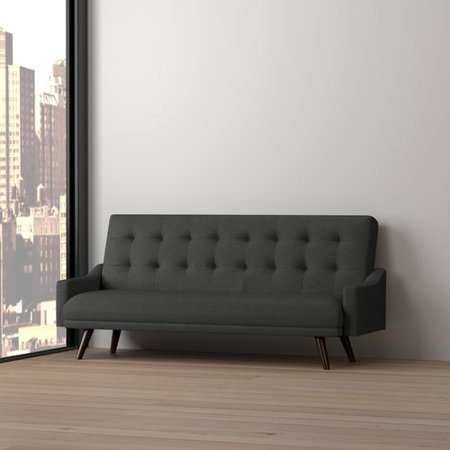 Wrought Studio Cottrill Click Clack Futon Sofa Bed Walmart Com