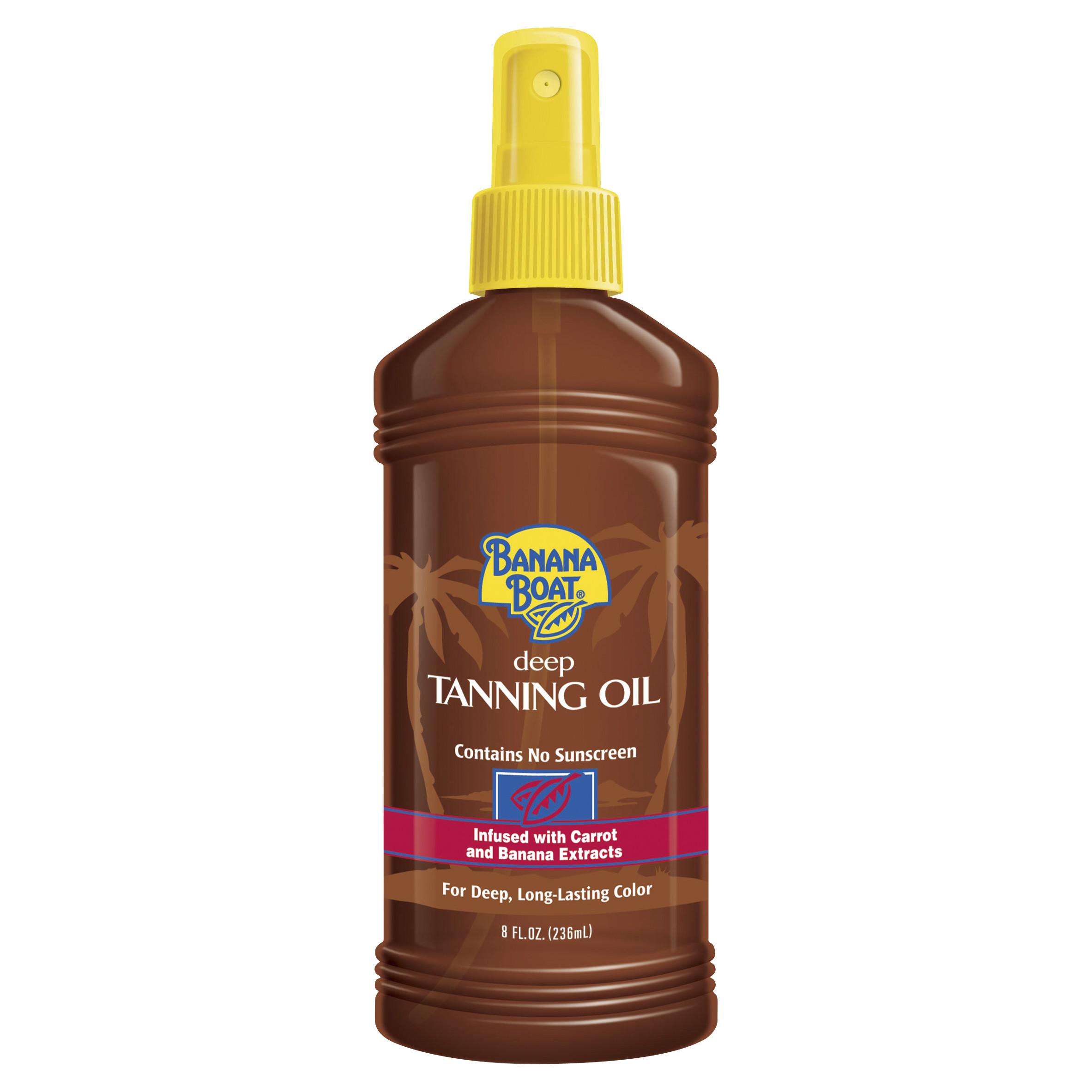 Banana Boat Deep Tanning Oil Pump Spray - 8 Ounces