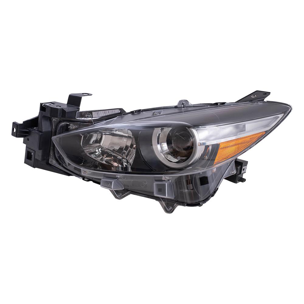 Drivers Halogen Headlight Assembly for 07-10 Hyundai Elantra Sedan 921012H051