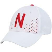 Nebraska Cornhuskers Top of the World Spectra Flex Hat - White