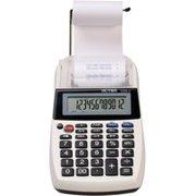 Victor 1205 - 4 12 Digit Portable Palm/Desktop Commercial Printing Calculator,2 LPS