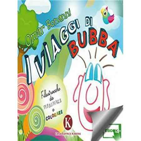 I viaggi di Bubba - Filastrocche da disegnare e colorare - eBook (Filastrocche Di Halloween)