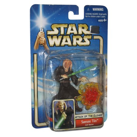 Star Wars Attack of The Clones Saesee Tiin Jedi Master #20 Figure